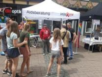 Stand auf Selbsthilfetag